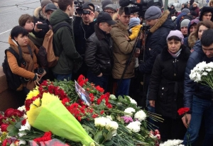 Немцов, Москва, шествие, конец