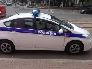 Донецк, ДНР, патрульная служба, Toyota Prius