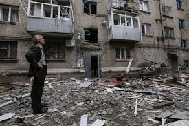 Обстрел,Авдеевка, ДНР, жители, погибшие, разрушения