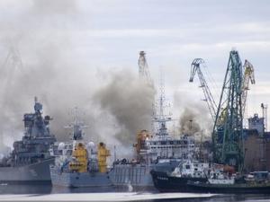 россия, северодвинск, атомная подводная лодка орел, происшествия, пожар