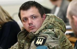 семенченко, протесты, митинг, верховная рада, батальон донбасс, порошенко, киев, новости украины