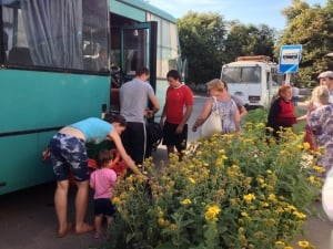 Стаханов, Первомайск, эвакуация, волонтеры, АТО
