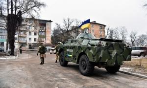 Украина, Донецк, полиция, учения, общество, Аброськин