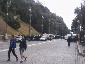 взрыв, раненые, киев, полиция, кадры, фото, видео, мужчина, женщина, чп, происшествия, день независимости украины, новости украины