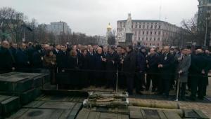 Киев, украина, порошенко, марш достоинства, общество, выставка, лидеры западных стран