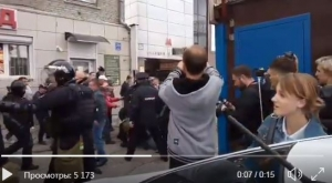 навальный, митинги, протесты, томск, новосибирск, полиция, омон, пенсия, повышение пенсионного возраста, видео, россия
