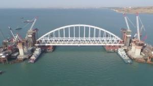 крым, керченский мост, строительство