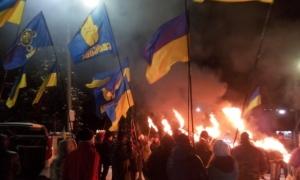 славянск, митинг, бандера