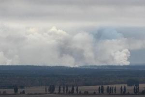 украина, полиция, ичня, жертвы, взрывы, склад, боеприпасы