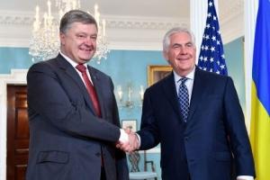 Украина, политика, общество, Киев, визит Тиллерсона, реформы в Украине, встреча Тиллерсона с Порошенко