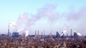 обстрел, ЕМЗ, енакиевский металлургический завод, остановка