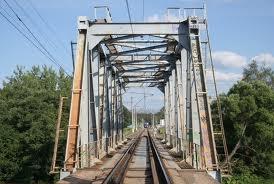 Железная дорога, Донбасс, мост, взорван, Укрзализныця