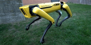 робот, Boston Dynamics, The New SpotMini, YouTube