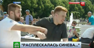 день ВДВ в России, удар в прямом эфире, канал НТВ