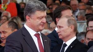 петр порошенко, владимир путин, новости украины, новости россии