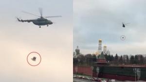 Россия, Песков, Вертолеты, Кремль, ФСО, Военные.