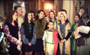 Порошенко, Украина, поздравление, общество, Рождество, семья, колядка