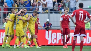 украина, люксембург, футбол, сборная украины по футболу, смотреть видео голов, обзор матча, отбор евро-2016