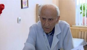 Одесса, Петр Петросян, 100 ле, самый старый врач, Украина, новости, Вторая мировая война, медицина