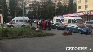 стрельба в Киеве, стрельба на детской площадке, криминал, происшествия, Киев, Украина