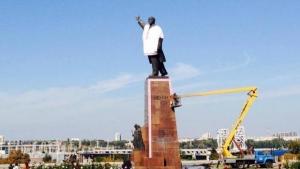 памятник Ленину, прямая трансляция