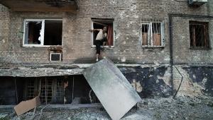 донецк, авдеевка, разрушения, обстрел, ато, днр, восток украины, донбасс, всу, происшествия