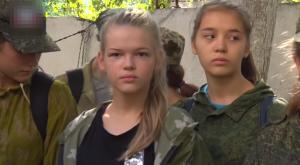 Украина, ДНР, Боевики, Террористы, Учения, Дети.