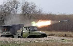 АТО, ДНР, Гранитное,атака, САУ, Град, обстановка