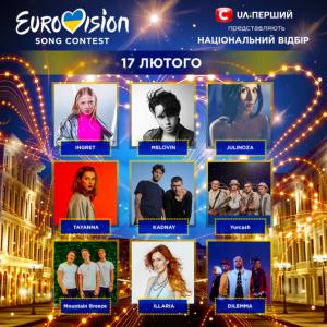 Евровидение, отбор, трансляция