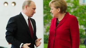 Меркель, Германия, Россия, Путин, общество, переговоры, Милан