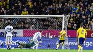 Россия сборная России Лига наций Швеция поражение видео