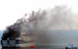 Адриатическое море, паром, общество, происшествие, Греция, эвакуация