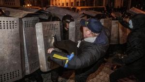 Активисты, Киев, Украина, столкновения, милиция, пострадали, задержаны, Ани Лорак