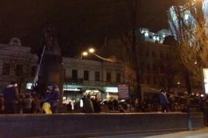 Дмитрий Парубец, культура ,киев, новости украины, памятник ленину, образ Пресвятой Богородицы Марии