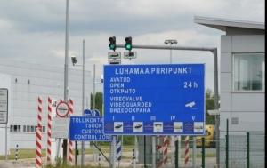 эстония, россия, забор, граница, политика