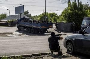 беспилотники, киевксий район, донецк, ато