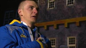 победа, видео, награждение, Пидручный, ЧМ, биатлон, гимн, Украины