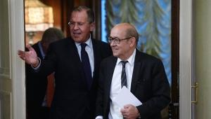 Сергей Лавров, МИД России, МИД Франции, Жан-Ив Ле Дриан