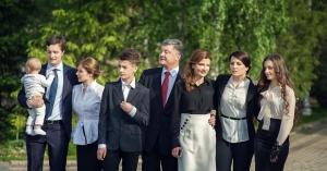 Порошенко, новости Украины, семья, внучка