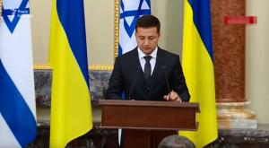 Украина, Израиль, Зеленский, Политика, Нетаньяху, Выступление.