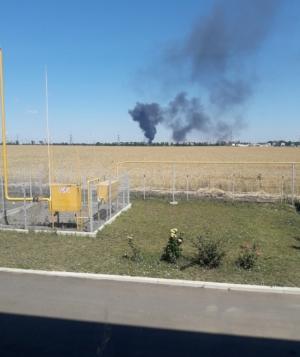 Пожар, Одесса, нефтебаза, взрыв, происшествие ОККО. SOGAR