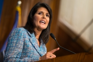 санкции, ООН, Ники Хэйли, США, Россия, Сирия. Асад, химическая атака, новости, экономика