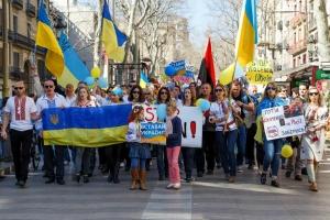 Меркель, Германия, Киев, Путин, двойные стандарты, митинг