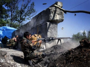 АТО, Красное, Донецк, бои, повстанцы