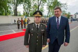 Литва, Украина, Министерство обороны, Степан Полторак