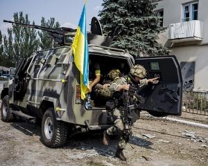Углегорск, наступление, штурм, ДНР, АТО ,армия Украины