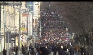 Москва, Немцов, общество, траур, марш, Путин