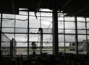 донецк, ато, аэропорт, стрельба, взрывы
