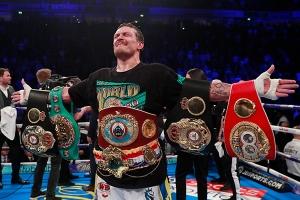 украина, спорт, бокс, Усик, Белью, бой, победа