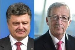 порошенко, еврокомиссия, евросоюз, финансовая помощь